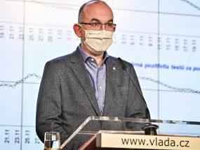 Nový parametr PES budou hospitalizace, očkování prioritních skupin bude hotové v březnu