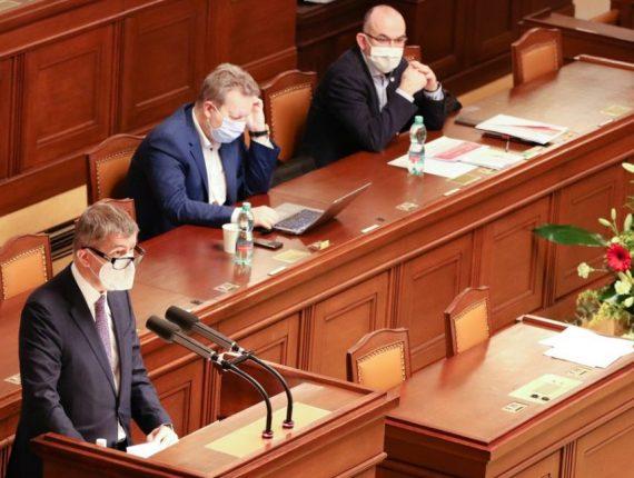 Prodloužení nouzového stavu bylo schváleno do 14. února